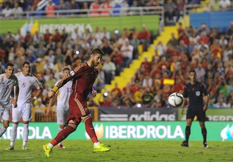 Report: Spain 5-1 Macedonia