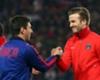 Beckham felicita a la familia Messi