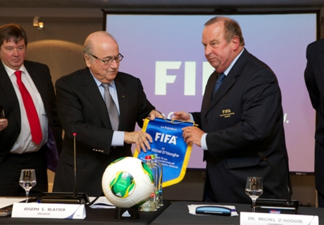 Fifa clears D'Hooghe of wrongdoing