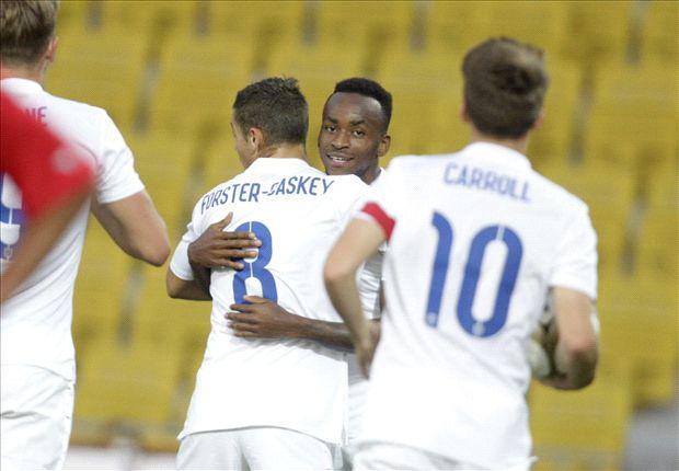 Moldova U21 0-3 England U21: Berahino & Kane fire Young Lions to easy victory