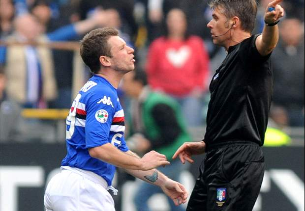 Italy Coach Lippi Tells Cassano To Continue Good Performances
