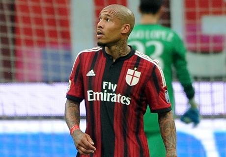 De Jong op bank bij derby Milaan