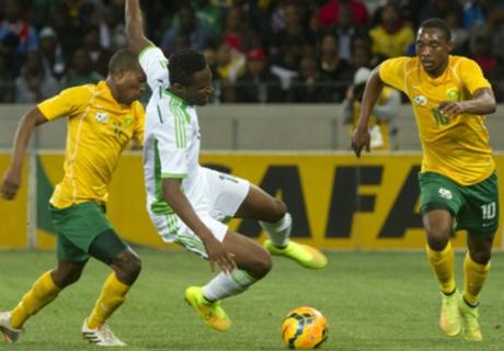 Résumé de match, Afrique du Sud-Nigeria (0-0)