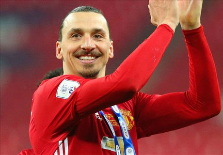 Ibrahimovic hints at Man Utd stay