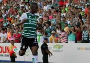 AMÉRICA: Las Águilas pagaron una fortuna por el ex atacante de Santos Laguna. El colombiano es garantía de gol en el futbol azteca.