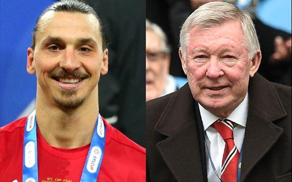 WATCH: Sir Alex's reaction to Zlatan goal