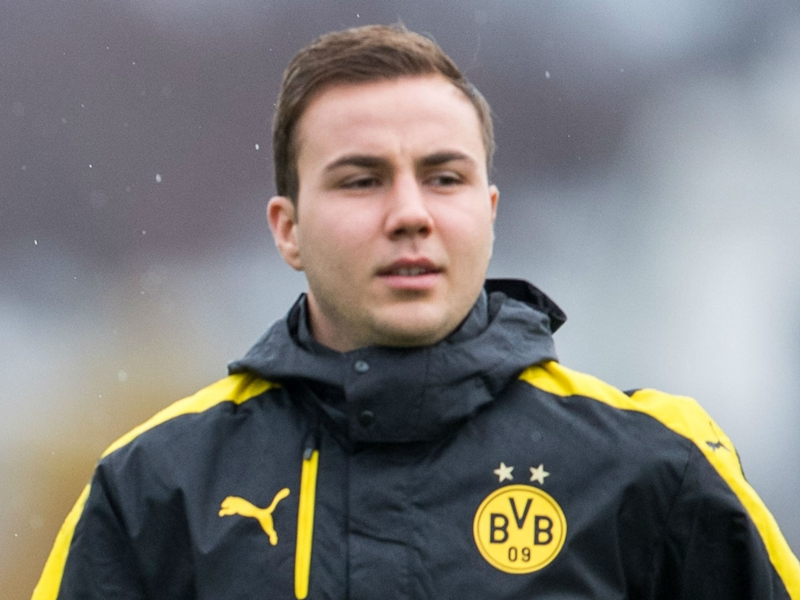 'I am back on track now' - Gotze closing in on Dortmund return after lengthy lay-off