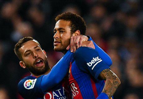 Barcelona smash Sporting for six