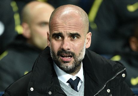 Pep admits blow to centre-back search