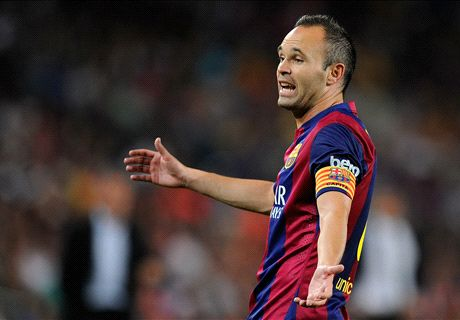 PSG punished us - Iniesta