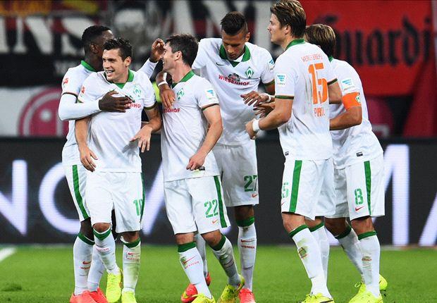 Am Ende durfte sich Werder über einen Auswärtspunkt freuen