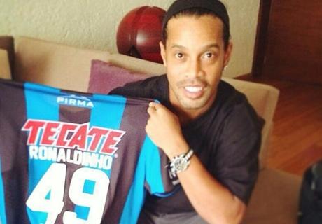 Mexique, Ronaldinho victime de racisme