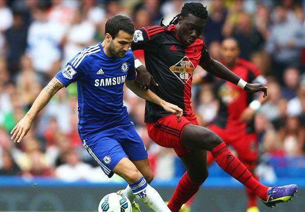 Chelsea 4-2 Swansea: Diego Costa y Cesc Fábregas ponen en pie Stamford Bridge
