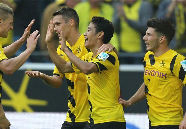 Borussia Dortmund 3-1 Freiburg: Kagawa on target in BVB return