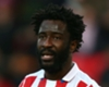 Hughes urges patience after Bony calls Stoke situation 'crazy'