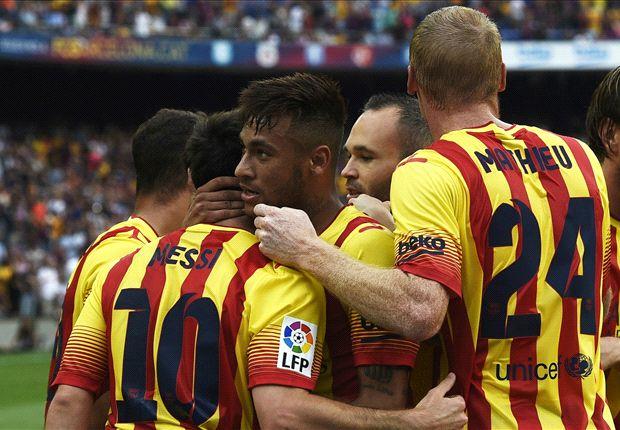 Später Jubel beim FC Barcelona