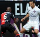 Ligue 1: Stade Rennes 1-1 PSG