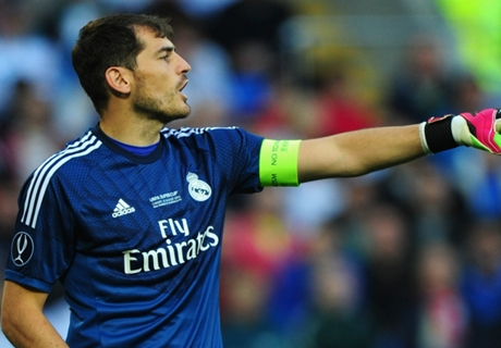 'Casillas is No.1, end of discussion'