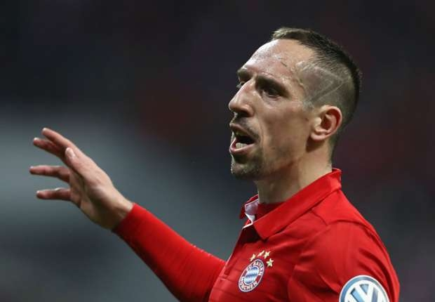 Ribery slams referees in series of Instagram posts