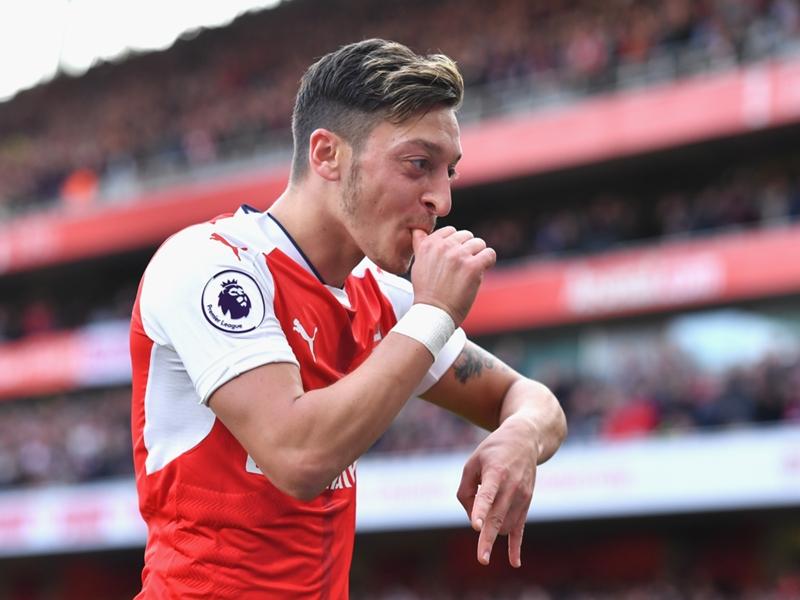 Arsenal playmaker Ozil explains Wembley 'secret' ahead of FA Cup semi-final