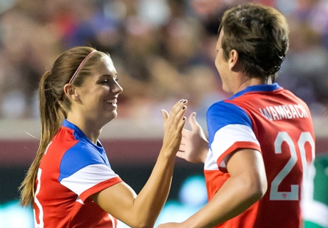 U.S. women defeat England