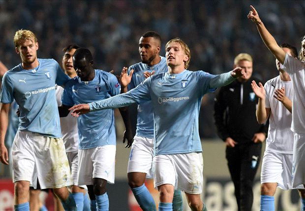 Malmo 2-0 Olympiakos: Rosenberg at the double for Swedish side