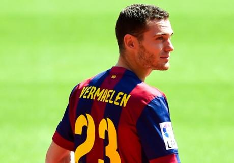 Vermaelen suffers hamstring injury