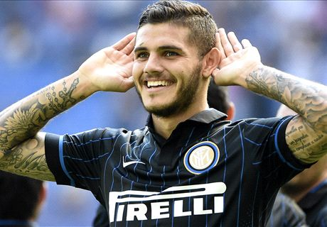 Rampant Inter hit seven past 10-man Sassuolo