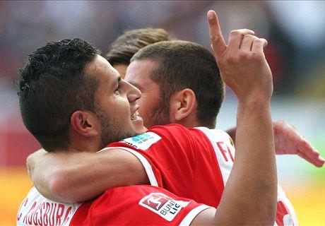 Augsburg ringt Hoffenheim nieder