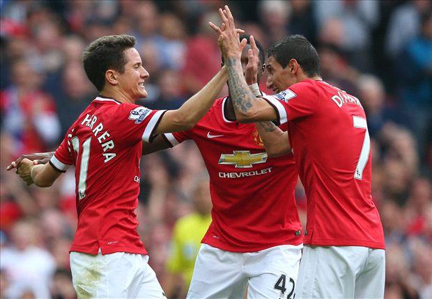 Manchester United 4-0 QPR: Ángel Di María hace sonreír a Old Trafford
