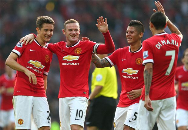 Manchester United 4-0 QPR: Di Maria inspires first win for Van Gaal