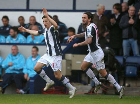 EPL: Robert Koren, Bromwich Albion - Bolton Wanderers (PA)