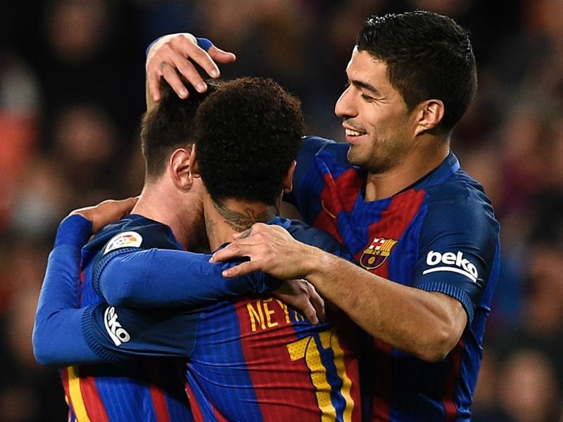 Neymar talks up Messi & Suarez partnership amid Man Utd links