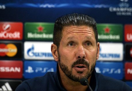 Simeone frustrated by 'wasteful' Atleti
