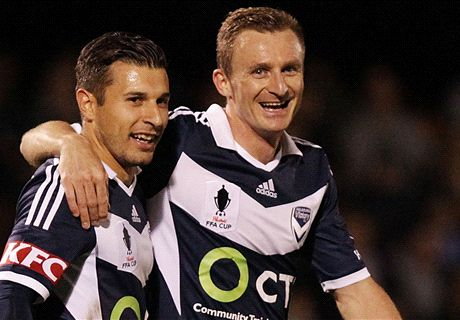 FFA Cup wrap: Victory cruise, Turnbull shines for Strikers