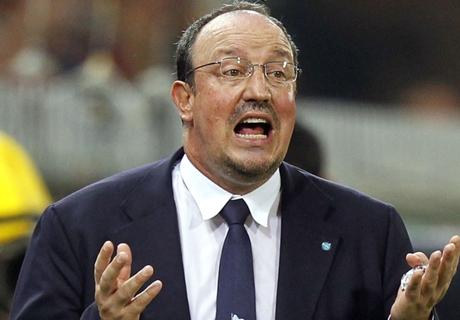 Benitez tears into lacklustre Napoli