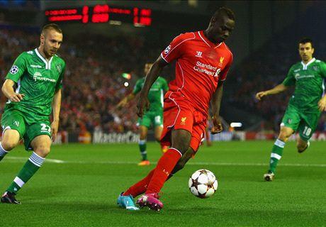 EN VIVO: Liverpool 0-0 Ludogorets