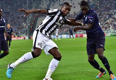 LIVE: Juventus 0-0 Malmo