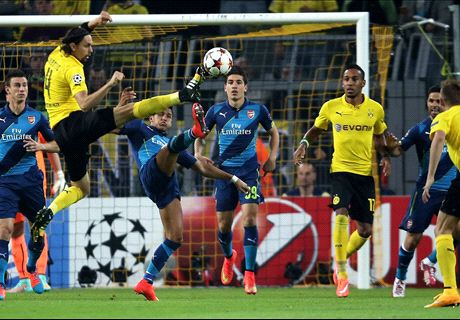 LIVE: Dortmund 1-0 Arsenal