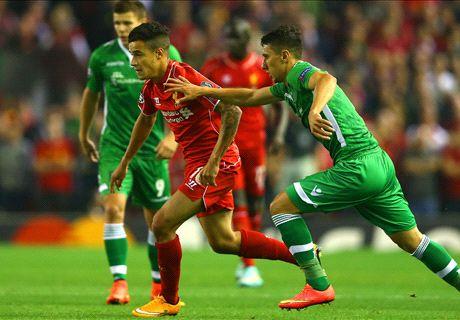 LIVE: Liverpool 0-0 Ludogorets