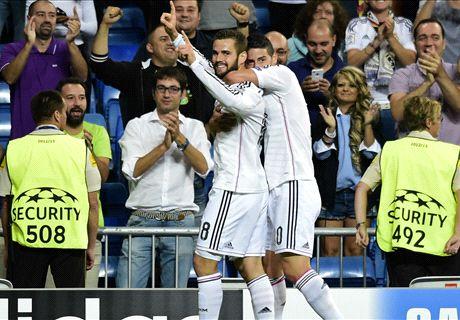 LIVE: Real Madrid 4-1 Basel