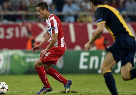 LIVE: Olympiakos 2-1 Atletico Madrid