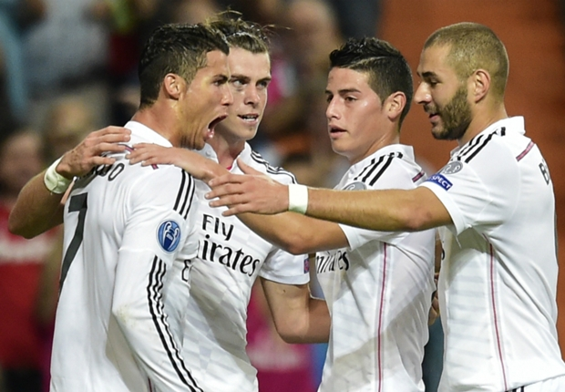 Real Madrid make it 1,000 European goals with thrashing of Basel