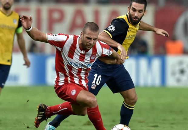Olympiakos 3-2 Atletico Madrid: Spanish champions beaten in Greece