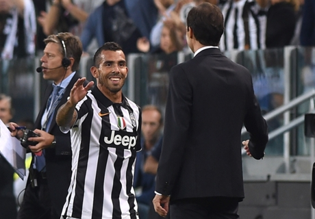 Tevez vital for Juve