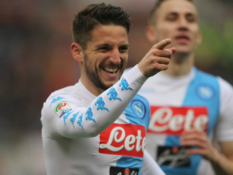 Manchester United target Mertens is finally proving he can be key to Napoli's future