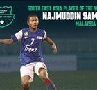 SEA Player of the Week: Najmuddin Samat
