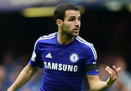 Fabregas: I'm in the form of my life