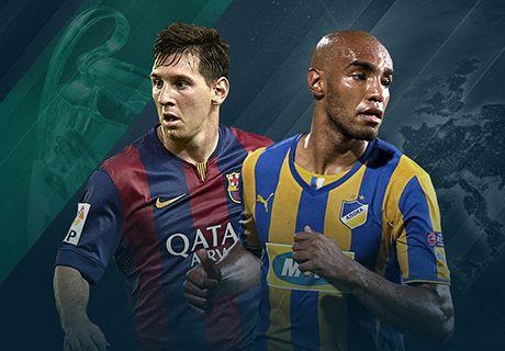 En vivo: Barcelona 0-0 APOEL