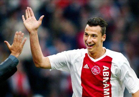 Los duros días de Zlatan en Ajax